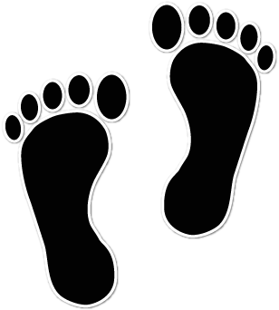 Clipart Baby Footprints - ClipArt Best