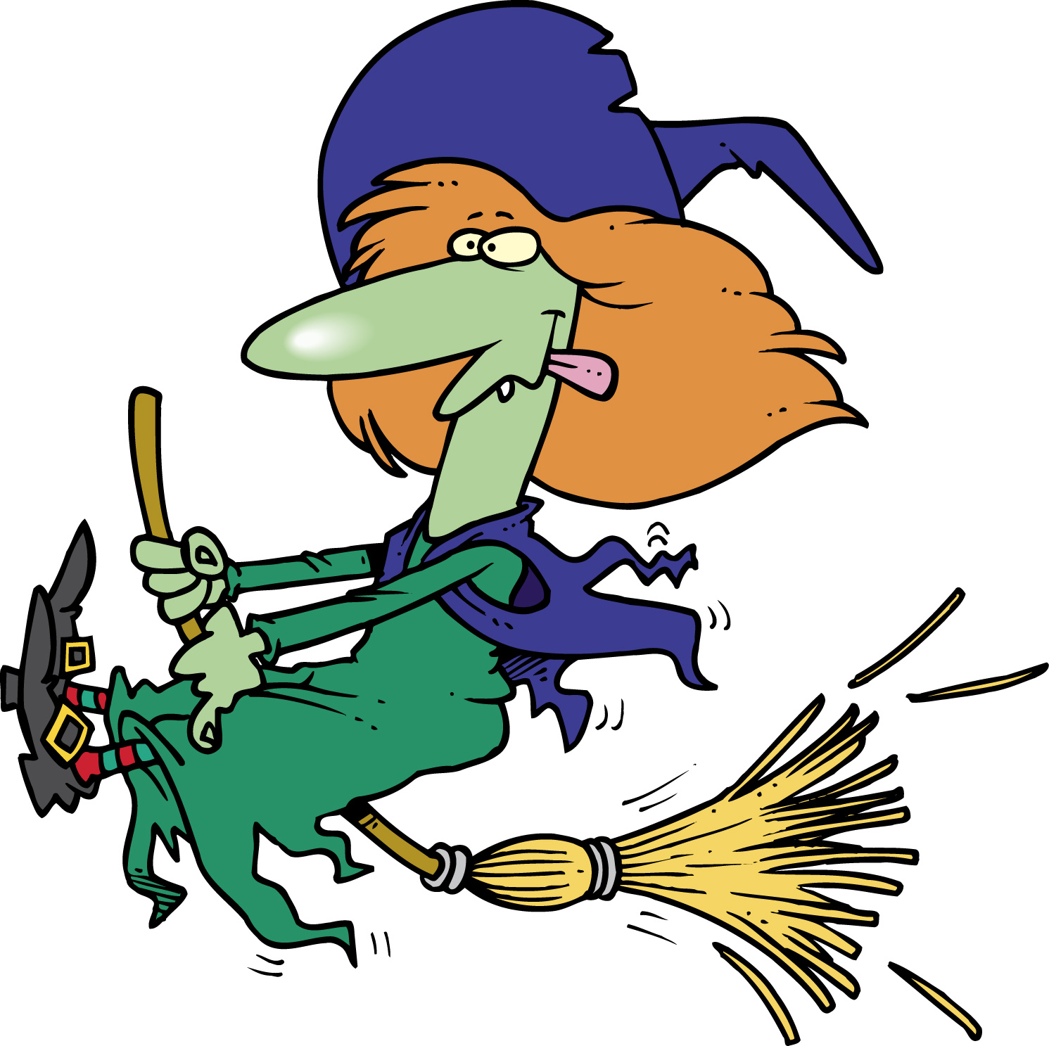 Pix For > Witches Clipart