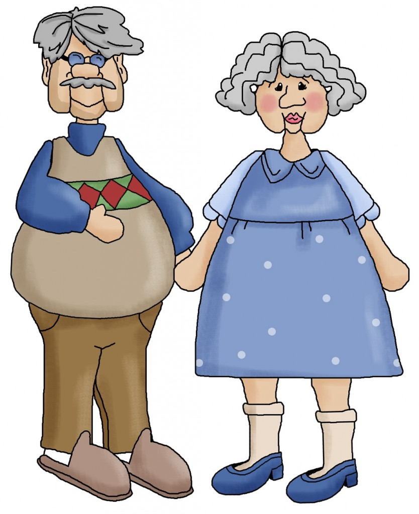 Clipart Grandparents - Cliparts.co