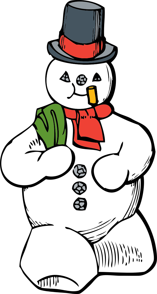 Snowman Clipart by johnny_automatic : Christmas Cliparts #5289 ...