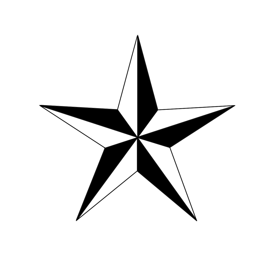 How To Draw A Nautical Star: 6 Steps (with Pictures) - WikiHow