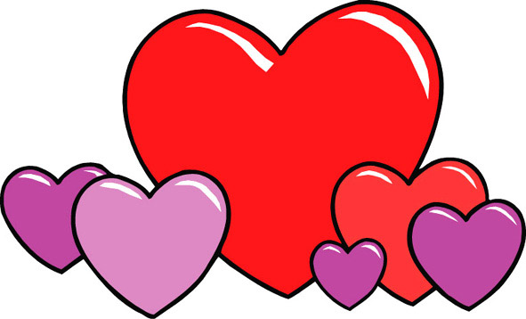 Pics Of Love Hearts - Cliparts.co