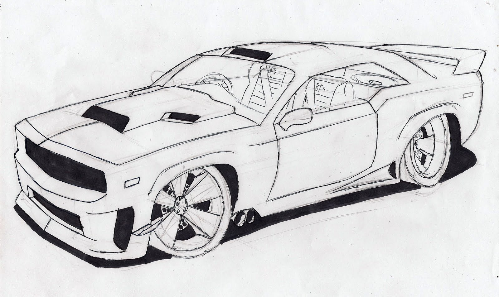 Cars Drawings Cliparts Co