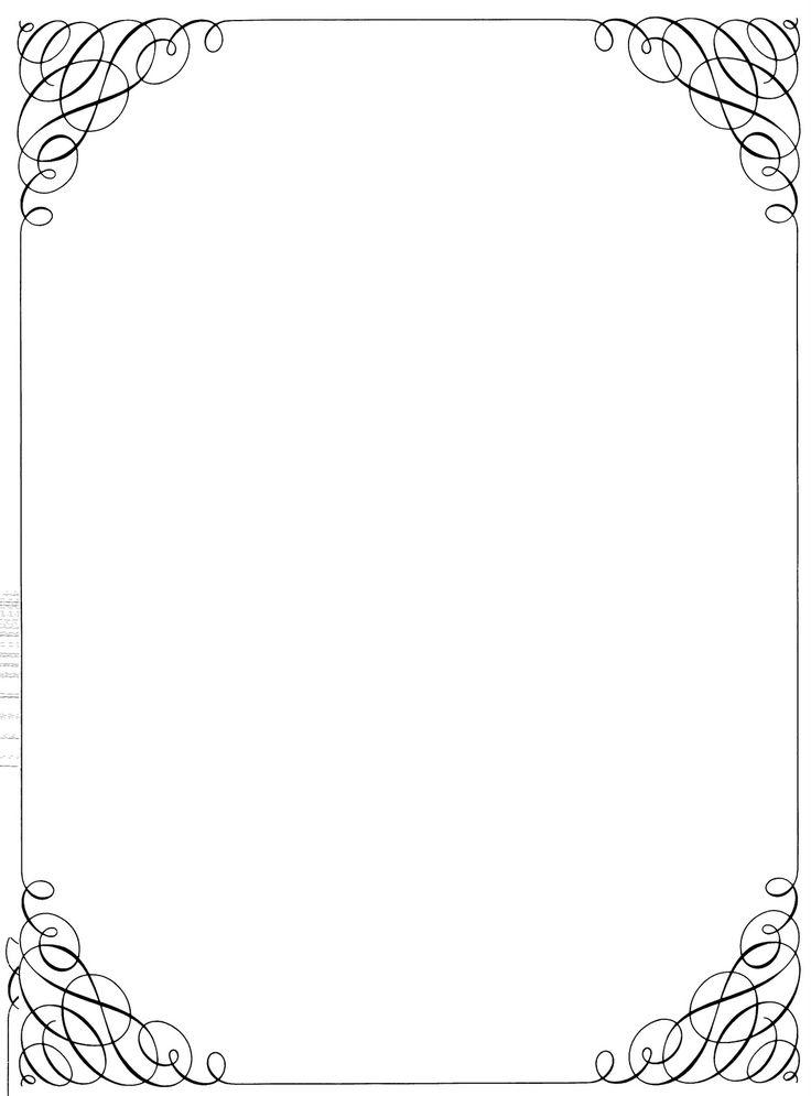Fancy borders for Paper border