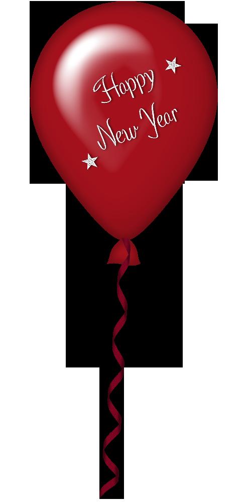 new years balloons clip art - photo #9