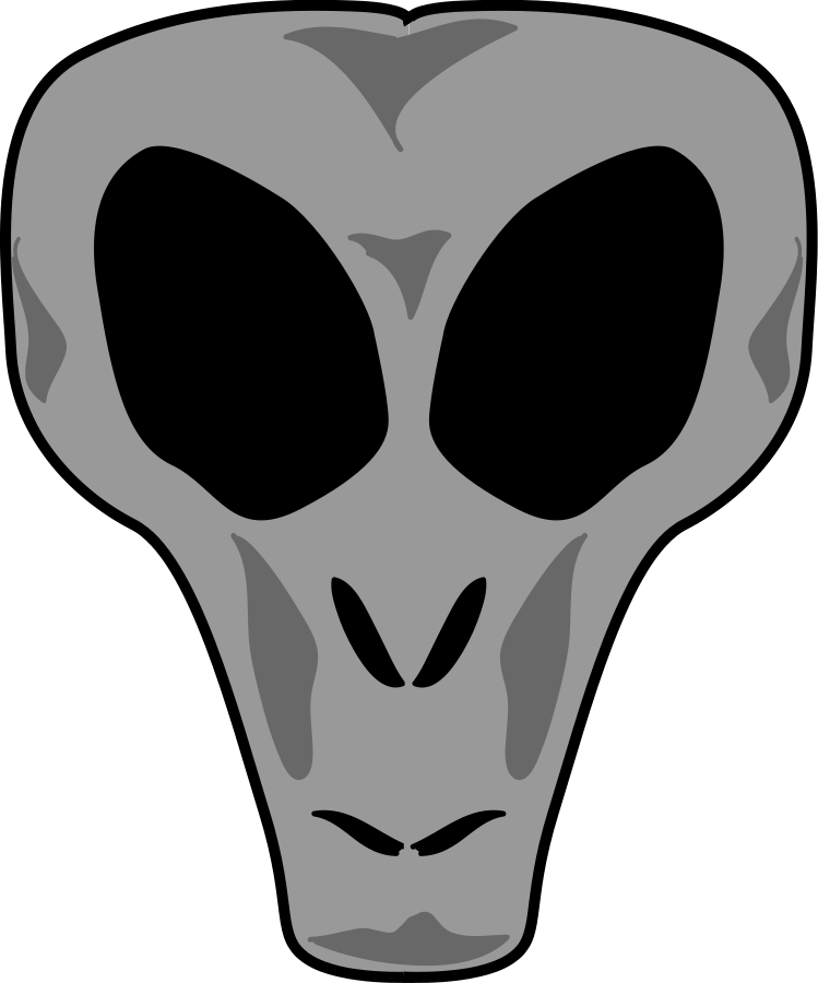 Tobyaxis the Alien SVG Vector file, vector clip art svg file ...
