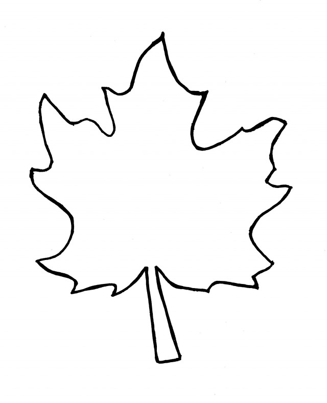 Coloring Pages Of Fall Leaves Autumn Leaves Coloring Pages Viewing ...