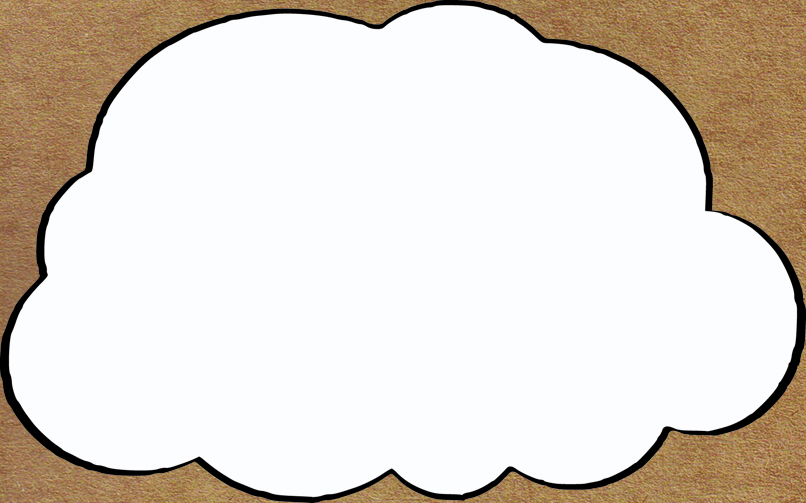 9 Printable Cloud Templates Free Download! - mandegar.info