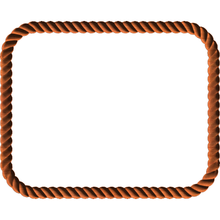 Rope Border on Western Border Clip Art