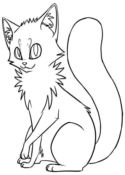 Cat Lineart : Cat lineart cliparts
