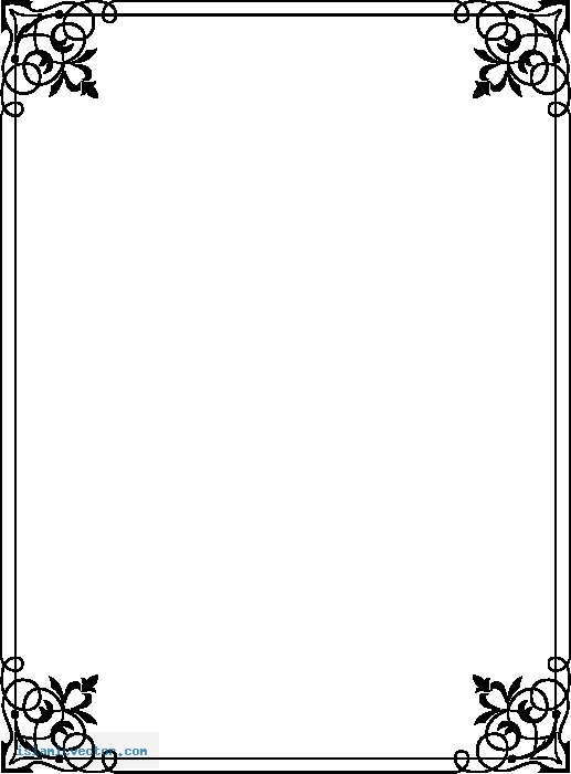 page border coloring pages - photo #15