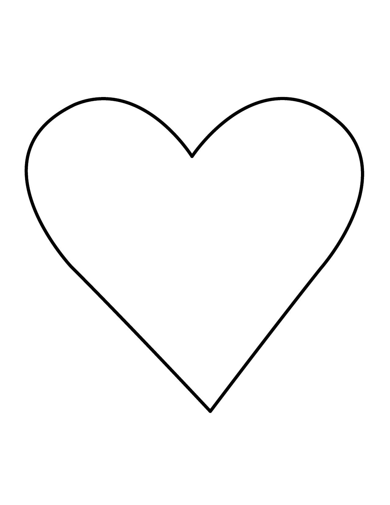Clip Art Hearts Outline | Clipart Panda - Free Clipart Images