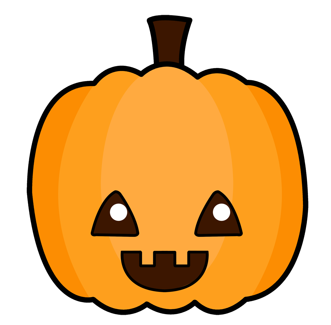 jack o lantern faces clip art - photo #46