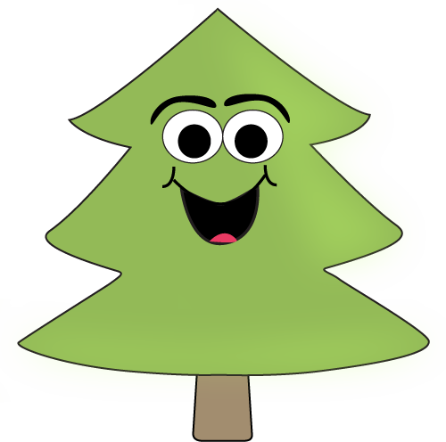 Cartoon Tree Clip Art - Cartoon Tree Image