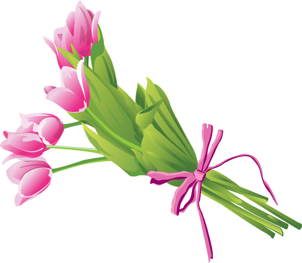 Bouquet of Tulips - ClipArt Best - ClipArt Best