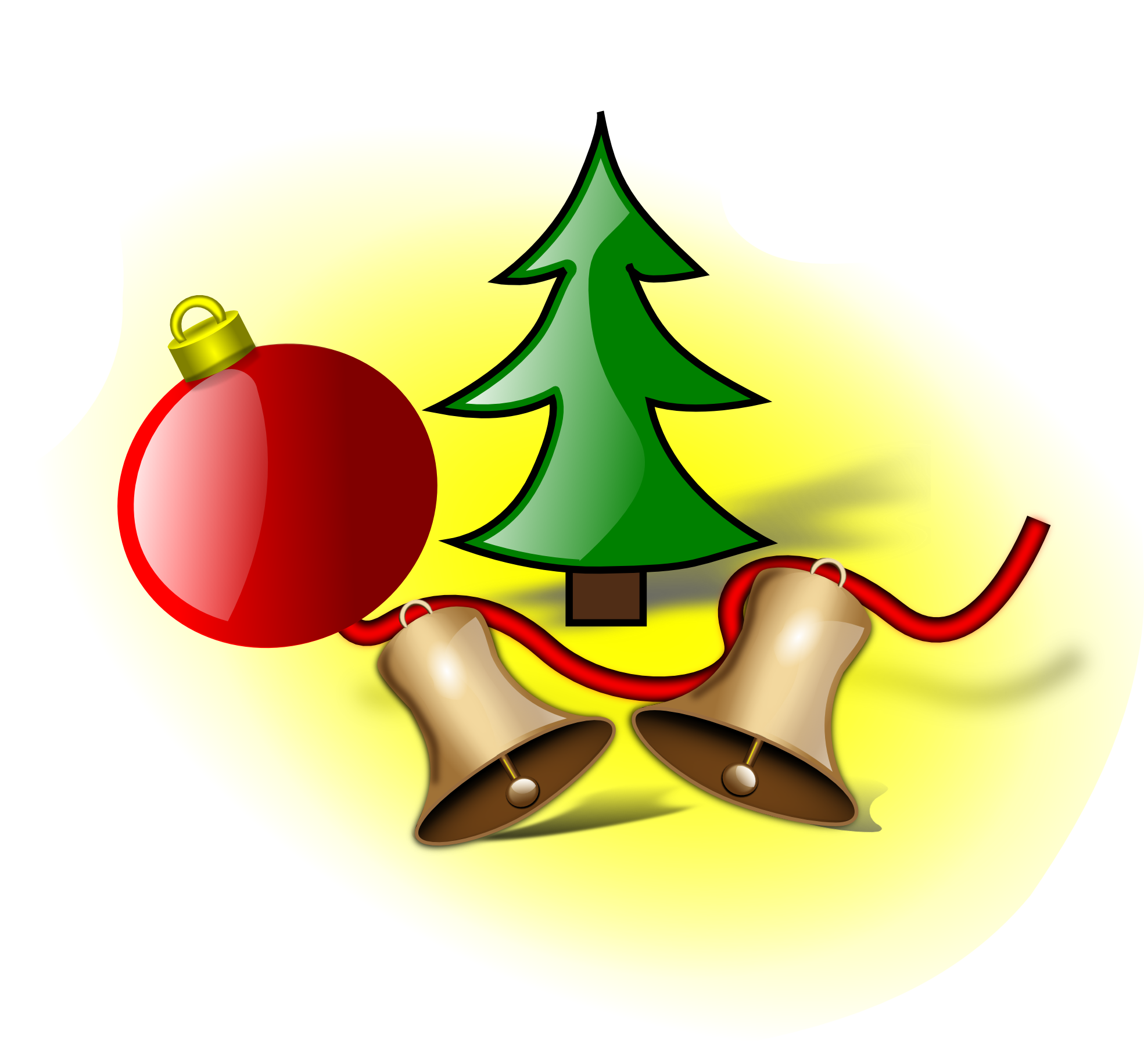 Xmas Stuff For > Christmas Jingle Bells Clip Art