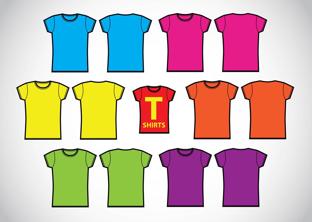 Clip art t shirt for Vector art for t shirts