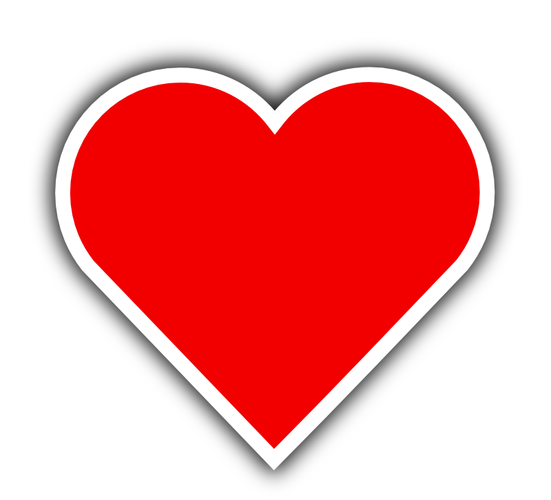 Clipart - Simple Red Heart - Cliparts.co