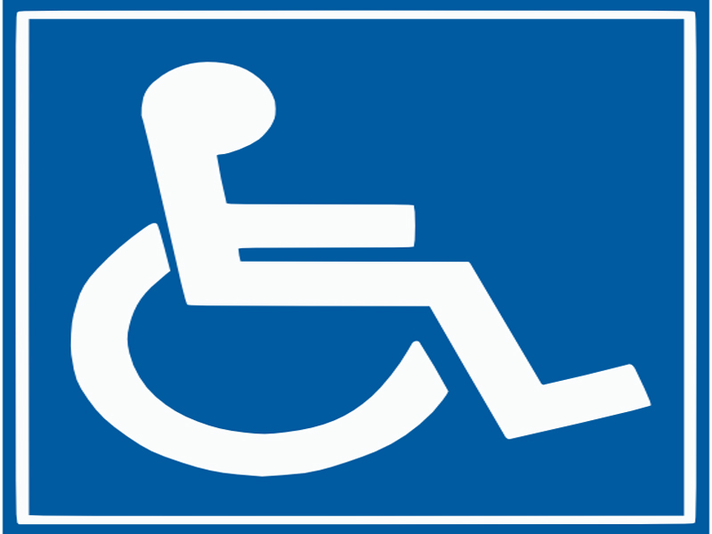 Printable Handicap Sign - Cliparts.co