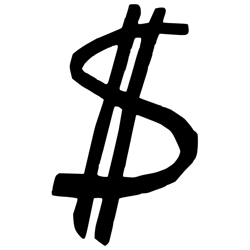 Dollar Symbol Clip Art Cliparts
