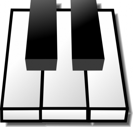 Piano Keys Clip Art - Cliparts.co