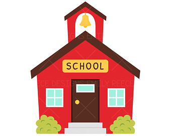 Clipart Schoolhouse - Cliparts.co