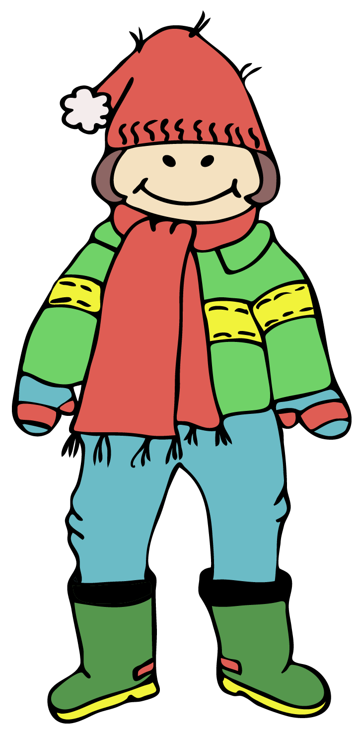 clipart winter clothing - photo #29