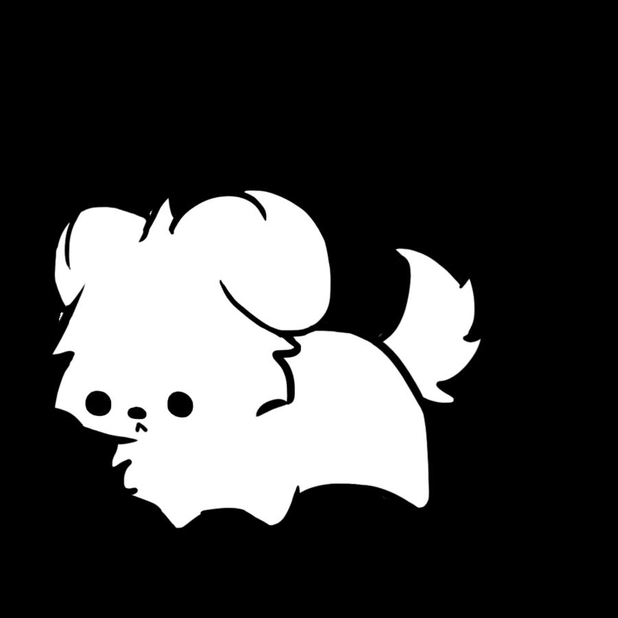 Line Art Dog : Dog line art cliparts