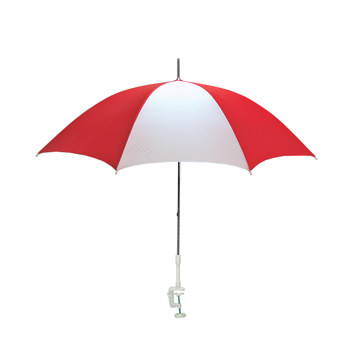 Red Beach Umbrella Cartoon