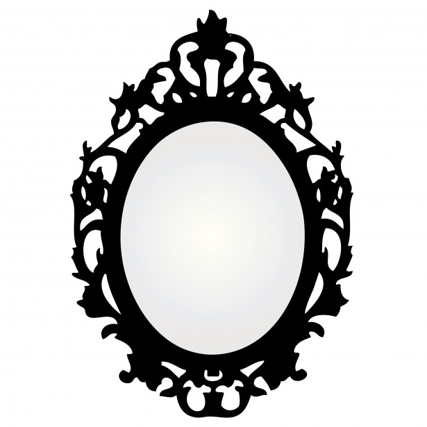 Clip art mirror for Miroir baroque