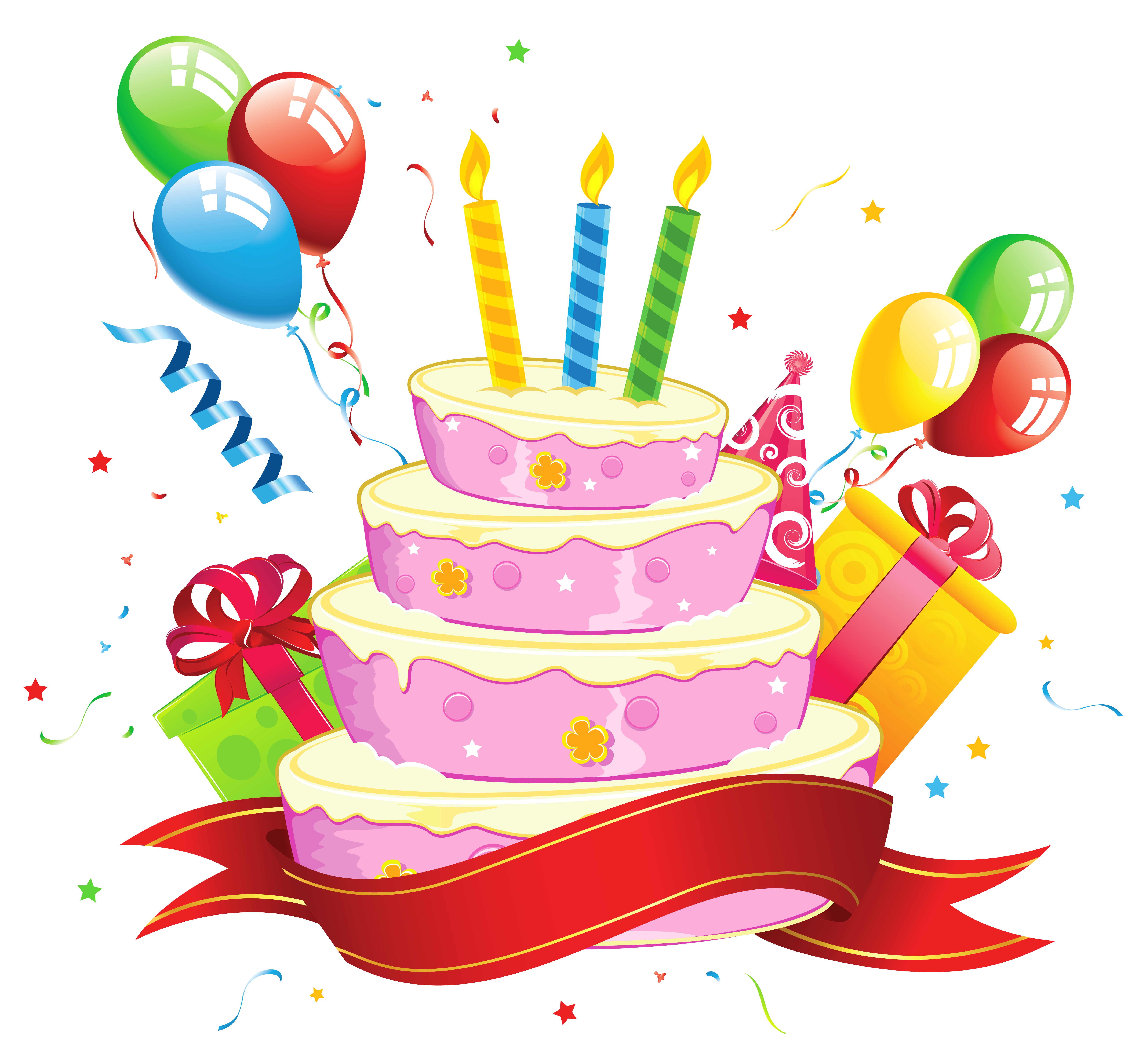 Simple Cake Clipart : Picture Of Birthday Cakes - Cliparts.co