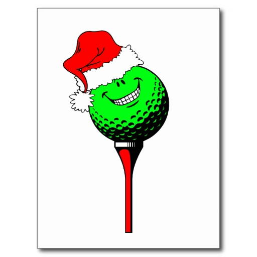 Christmas Golf Pictures Cliparts Co