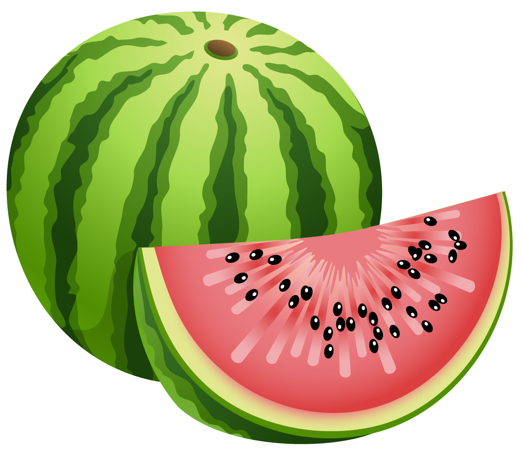 Cute Watermelon Clipart Images For  Watermelon Slice