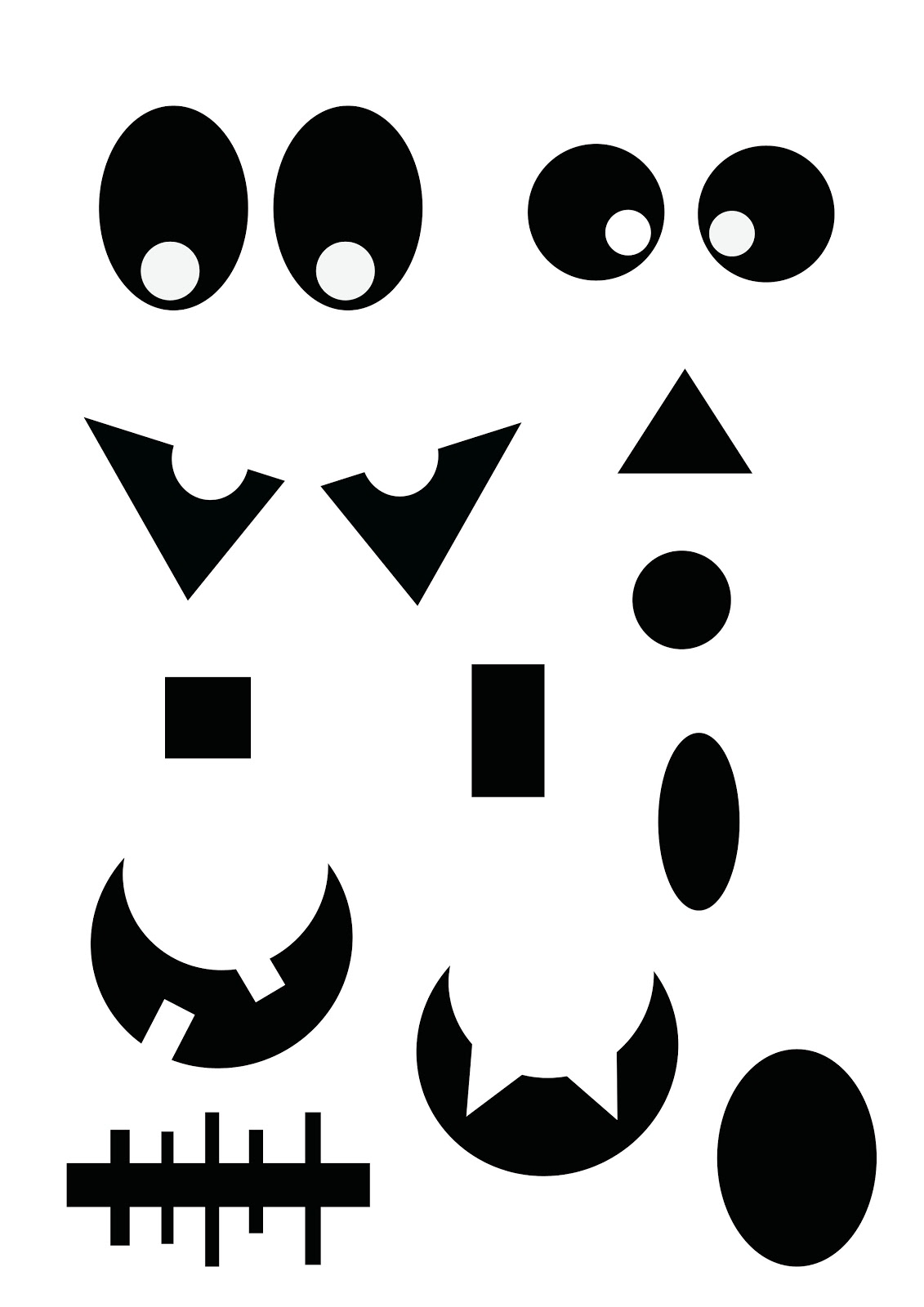 Barb Wire Skull Tribal Tattoo further Clown Tattoo Stencil in addition Eye Liner Problems furthermore Totenkopf Vorlagen also Spooky Eyes For Halloween Decor. on scary eyes stencils