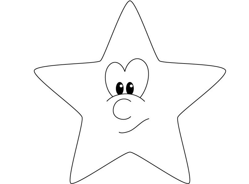 shooting star coloring page  clipartsco