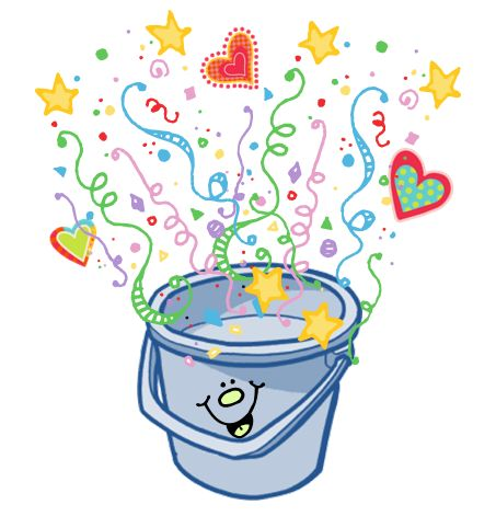 Bucket Filling Coloring Page