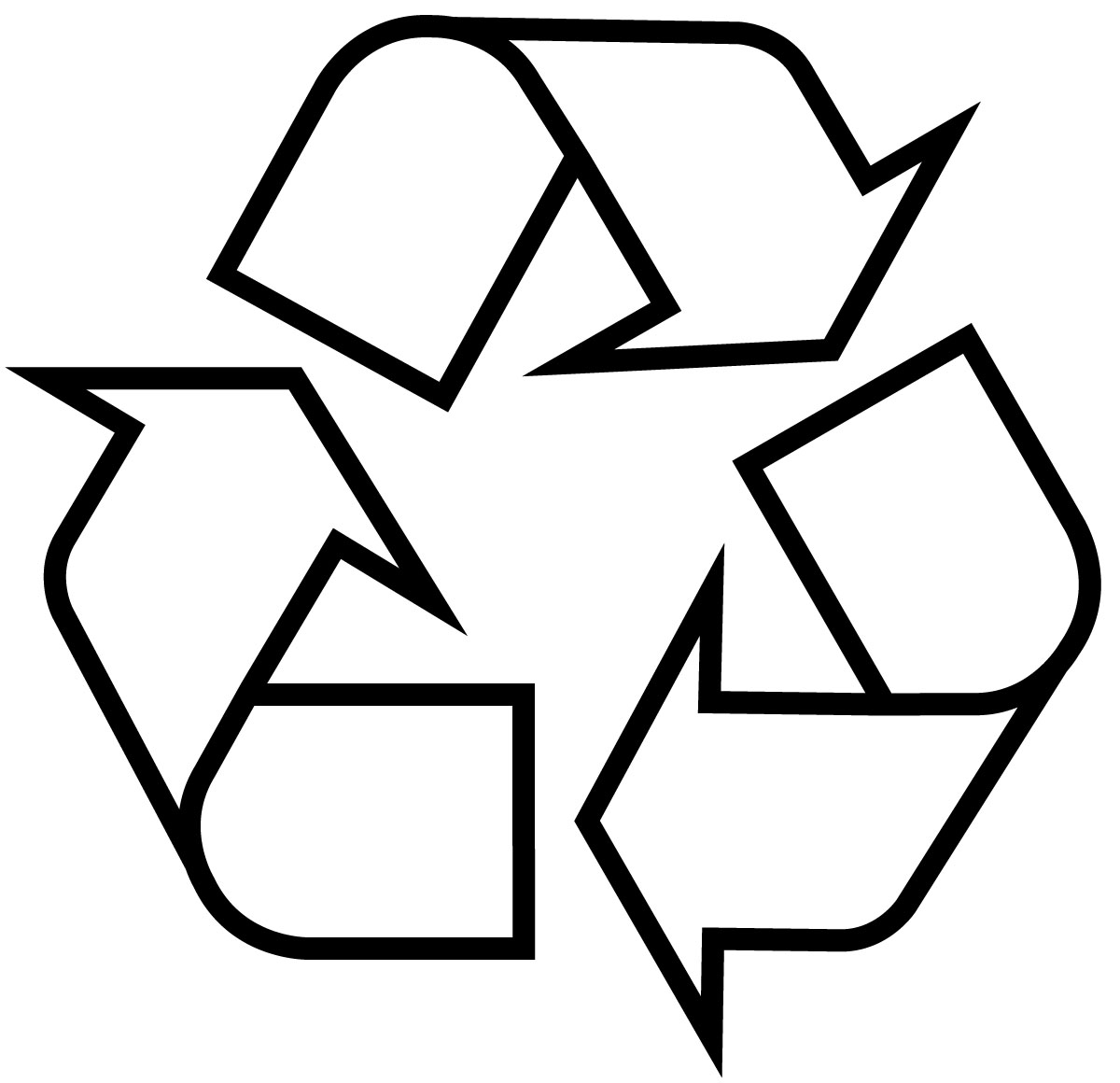 Free coloring pages recycling - Recycle Sign Images Pictures Becuo