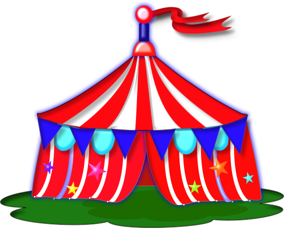 Circus Tent Clip Art - Cliparts.co