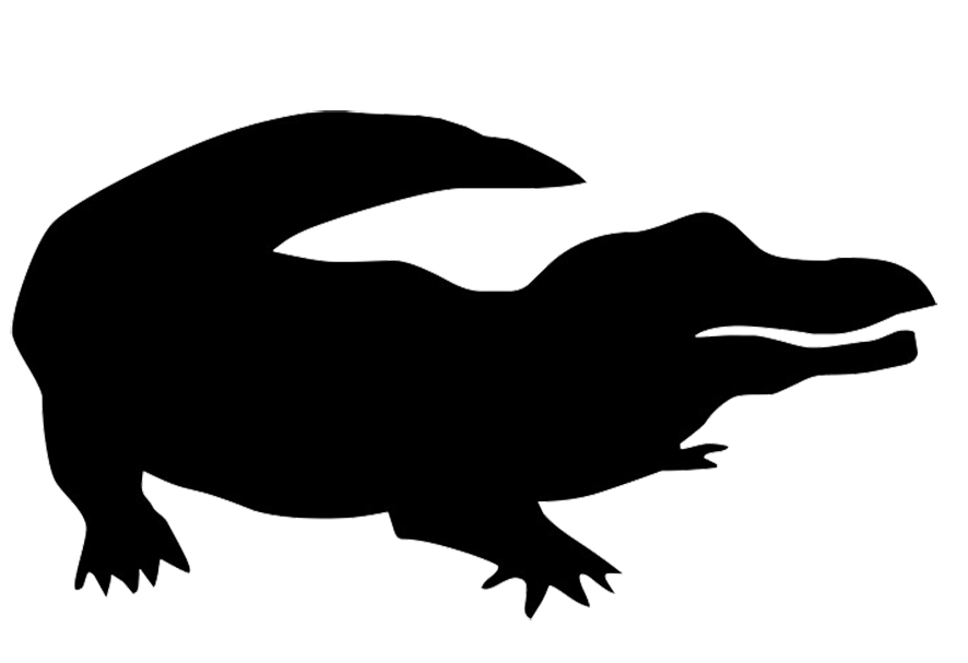 Alligator Silhouette Stock Images, Royalty-Free Images ...