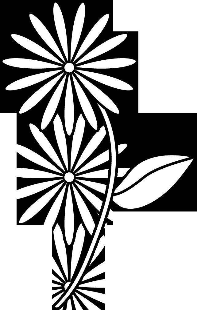 Simple Flower Drawings For Kids