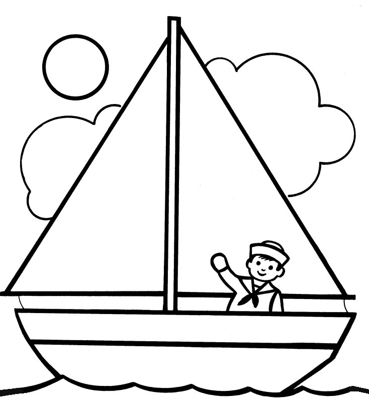 Boats Children Cliparts