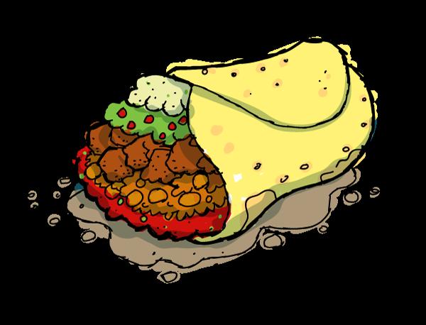 Burrito Clipart - Cliparts.co