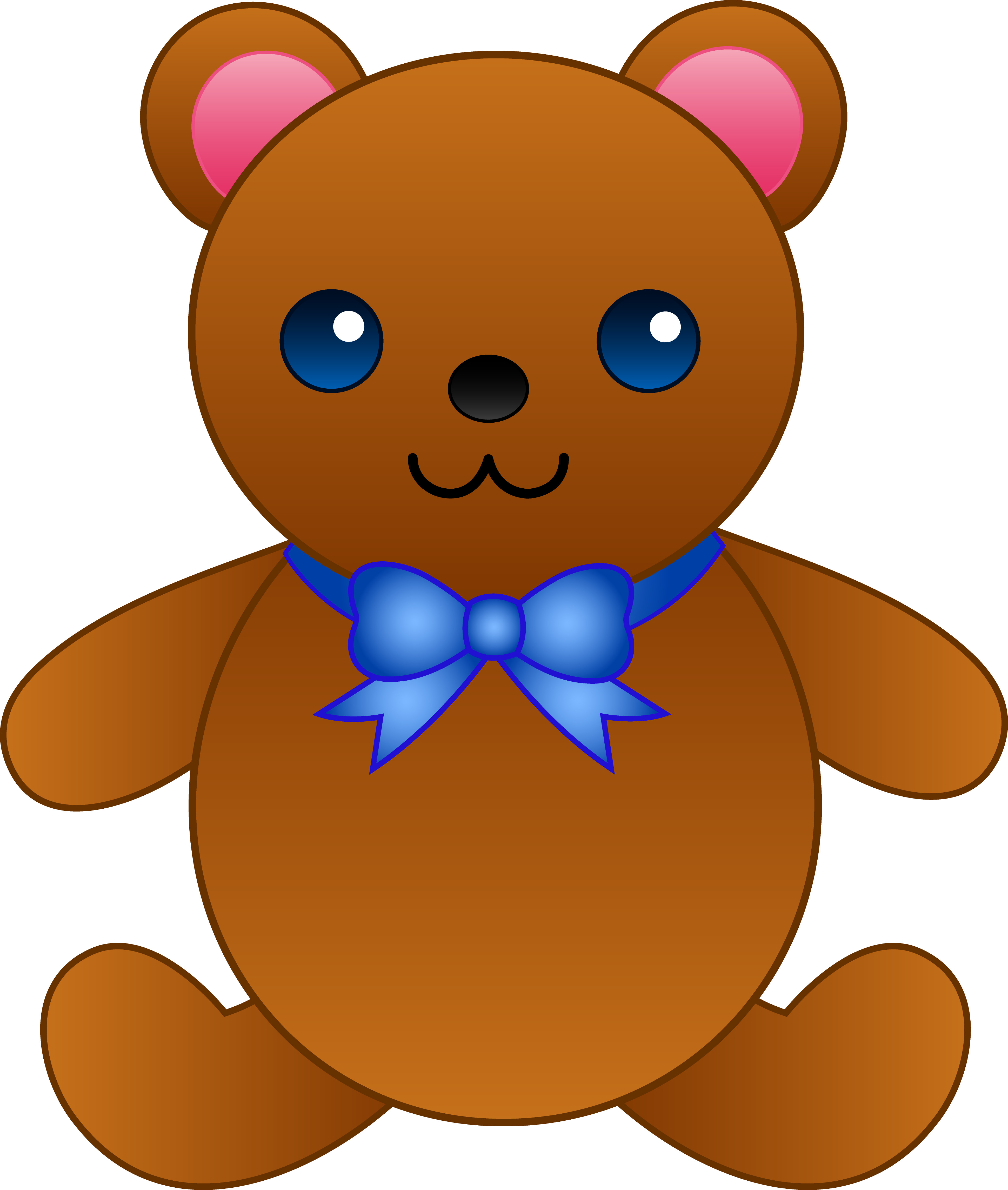 Blue Teddy Bear Clipart | Clipart Panda - Free Clipart Images