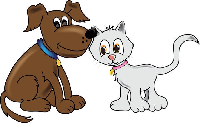 free clipart for dogs and cats - photo #38