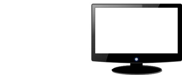 Computer Monitor Clip Art Black And White | Clipart Panda - Free ...