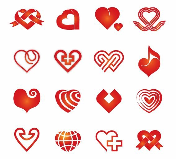 Vector Hearts | Free Vector Graphics | All Free Web Resources for ...