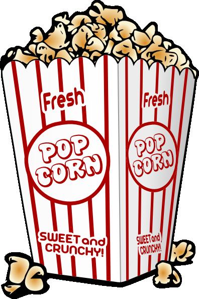 Popcorn clip art - vector clip art online, royalty free & public ...
