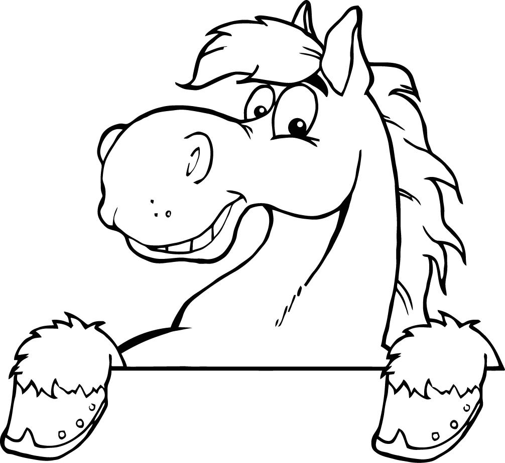 Cartoon Horse Drawings - Cliparts.co