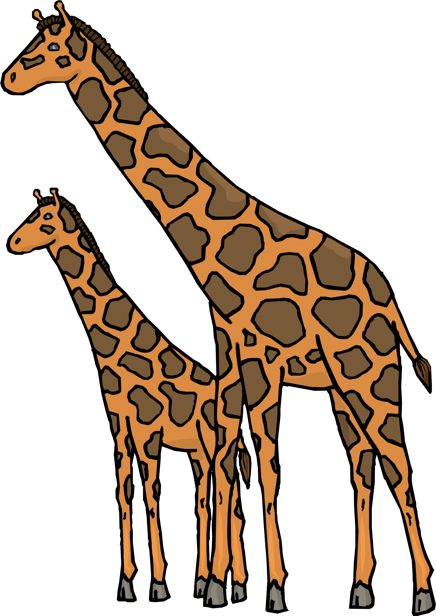 Giraffe Pictures Cartoon on baby giraffe pictures
