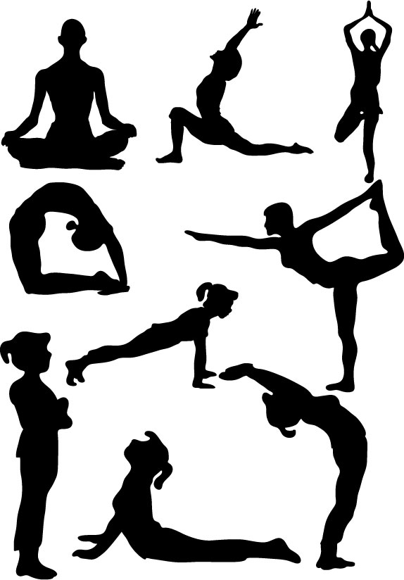 free clipart yoga - photo #9